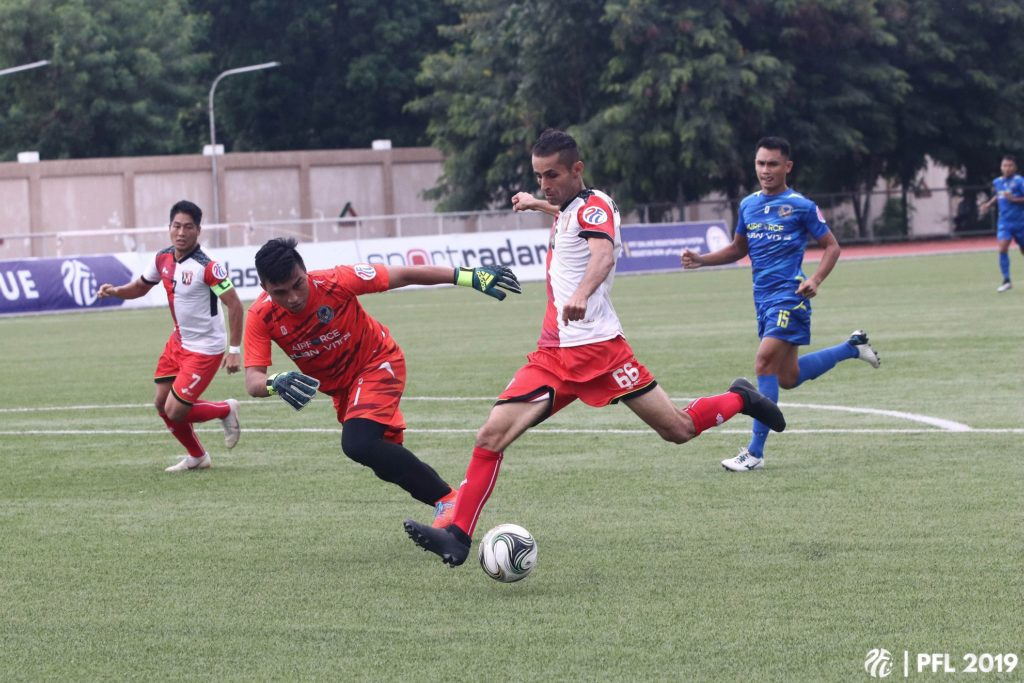 mendiola fc vs philippine air force
